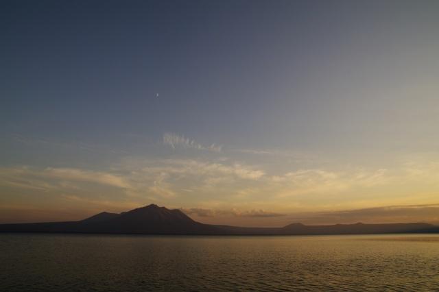 2010年10月14日支笏湖の夕景1.jpg