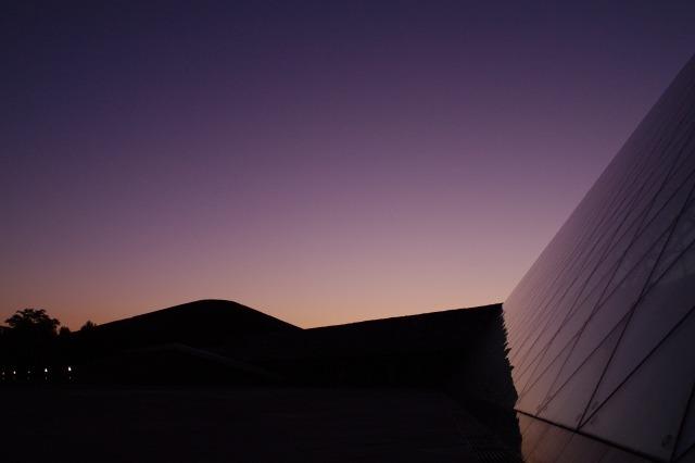 2010年8月17日モエレ沼公園の夕景10.jpg