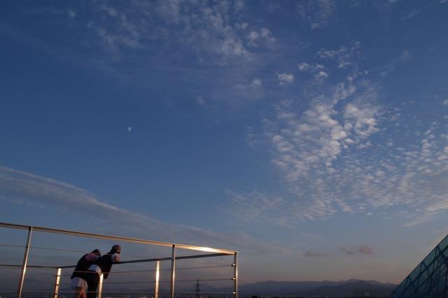 2010年8月17日モエレ沼公園の夕景4.jpg