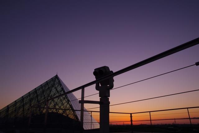 2010年8月17日モエレ沼公園の夕景7.jpg