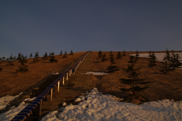 2011年4月12日モエレ沼公園の夕景11.jpg