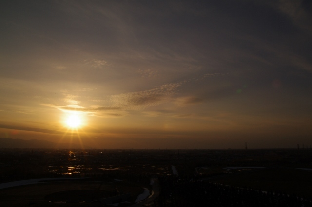 2011年4月12日モエレ沼公園の夕景12.jpg