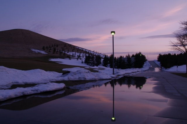 2011年4月12日モエレ沼公園の夕景15.jpg