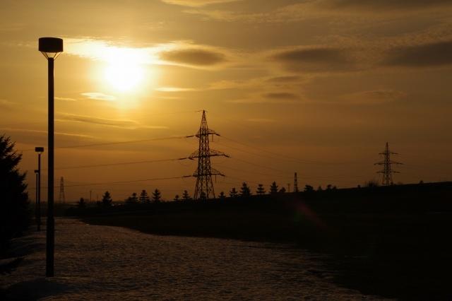 2011年4月12日モエレ沼公園の夕景9.jpg