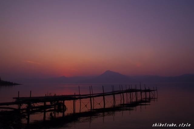 2011年支笏湖の夕景1.jpg