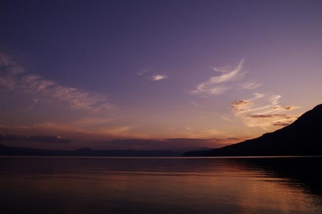 2010年10月14日支笏湖の夕景4.jpg