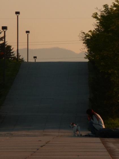 モエレ沼の夕方の景色2010531-3.jpg
