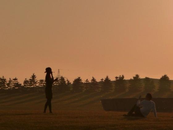 モエレ沼の夕方の景色2010531-4.jpg