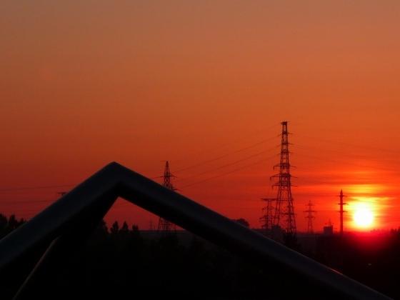モエレ沼の夕方の景色2010531-6.jpg